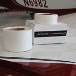 Clear Coated 8 mil Leading Edge Tape 2