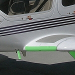 Diamond DA-40 Wing Root Protection (Pair)