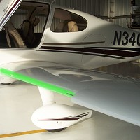 Cirrus SR-22 G2 Full Inboard Wing protection kit